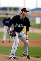 Tyler Johnson -  Seattle Mariners - 2009 spring training.Photo by:  Bill Mitchell/Four Seam Images