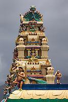 France, île de la Réunion, Saint-Benoît,  Temple Tamoul   //  France, Reunion island (French overseas department), Saint Benoit,  Tamil temple