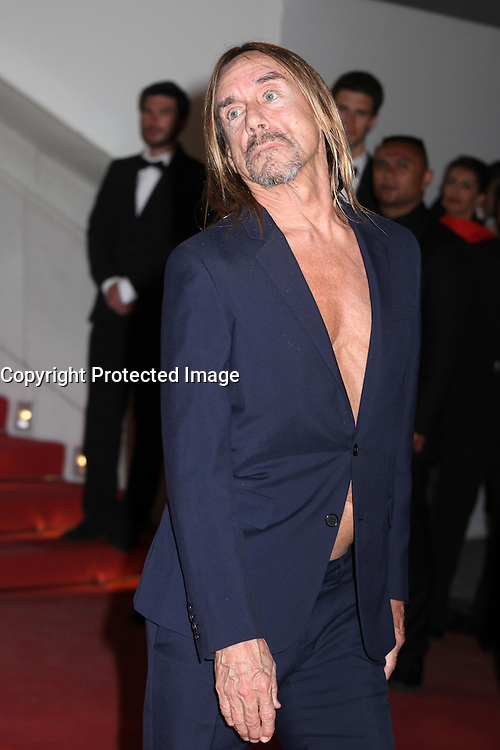 IGGY POP - RED CARPET OF THE FILM 'GIMME DANGER' AT THE 69TH FESTIVAL OF CANNES 2016 , 19/05/2016.