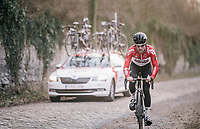 Tosh Van der Sande (BEL/Lotto-Soudal)<br /> <br /> 50th GP Samyn 2018<br /> Quaregnon > Dour: 200km (BELGIUM)