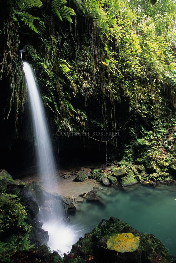 Emerald Pool waterfall