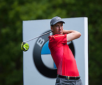 21.05.2015. Wentworth, England. BMW PGA Golf Championship. Round 1.  Ross Fisher [ENG] on the Par 4 3rd, during the first round of the 2015 BMW PGA Championship from The West Course Wentworth Golf Club