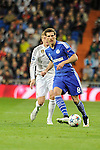 Real Madrid´s Toni Kroos and FC Shalke 04´s Leon Goretzka during 2014-15 Champions League match between Real Madrid and FC Shalke 04 at Santiago Bernabeu stadium in Madrid, Spain. March 10, 2015. (ALTERPHOTOS/Luis Fernandez)