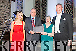 Pictured at 'A Christmas Evening of Song' in the Old Oratory Cahersiveen where a South Kerry Lifetime Achievement Award was presented to Barbara Gloinson pictured l-r; Nicola Mulligan-Ring, Minister Jimmy Deenihan, Barbara Gloinson & Gavan Ring.