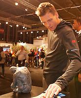 Februari 11, 2015, Netherlands, Rotterdam, Ahoy, ABN AMRO World Tennis Tournament, Tomas Berdych (CZE)<br /> Photo: Tennisimages/Henk Koster