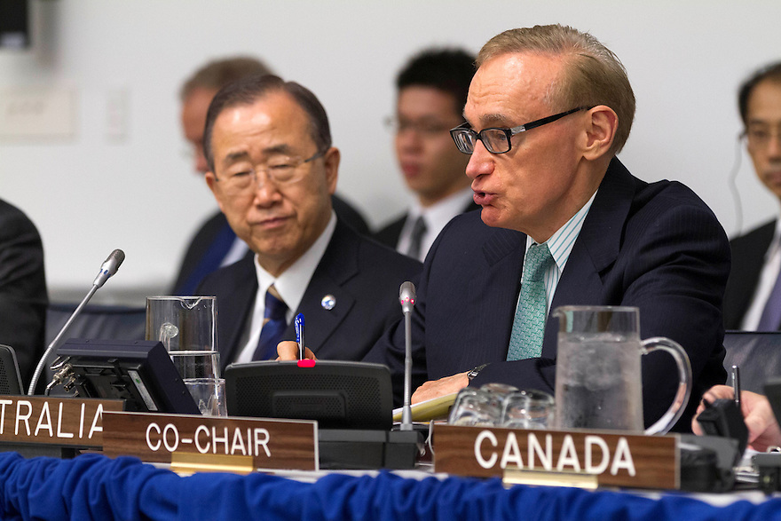 Foreign Minister Senator Bob Carr co-chairs the Comprehensive Nuclear-Test-Ban Treaty Ministerial Meeting at UN Headquarters. photo by Trevor Collens.