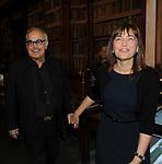 """FRANCO CALIFANO E RENATA POLVERINI<br /> PRESENTAZIONE LIBRO """"DETENUTI"""" DI MELANIA RIZZOLI<br /> BIBLIOTECA ANGELINA ROMA 2012"""