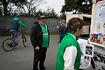 Guernsey 0 Corinthian-Casuals 1, 10/09/2017. Footes Lane, Isthmian League Division One. Home fans arriving at the ground as Guernsey take on Corinthian-Casuals in a Isthmian League Division One South match at Footes Lane. Formed in 2011, Guernsey FC are a community club located in St. Peter Port on the island of Guernsey and were promoted to the Isthmian League Division One South in 2013. The visitors from Kingston upon Thames won the fixture by 1-0, watched by a crowd of 614 spectators. Photo by Colin McPherson.