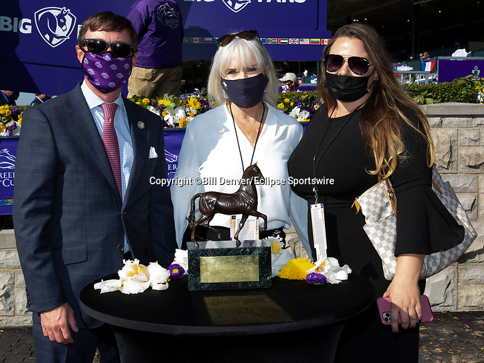 November 7, 2020 : Breeders' Award, Big Ass Fans Dirt Mile on Breeders' Cup Championship Saturday at Keeneland Race Course in Lexington, Kentucky on November 7, 2020. Bill Denver/Breeders' Cup/Eclipse Sportswire/CSM