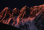 Ridge between Nuptse and Lhotse Shar, Khumbu region, Nepal