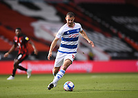 17th October 2020; Vitality Stadium, Bournemouth, Dorset, England; English Football League Championship Football, Bournemouth Athletic versus Queens Park Rangers; Dominic Ball of Queens Park Rangers brings the ball forward