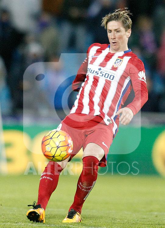 Atletico de Madrid's Fernando Torres during La Liga match. February 14,2016. (ALTERPHOTOS/Acero)