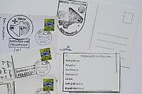 Bundeswehr Feldpost, Postkarten aus dem Camp Castor in Mali