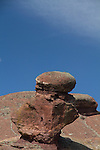 Stone pillar in Red Rocks State Park, Colorado John leads private photo tours throughout Colorado, year-round.