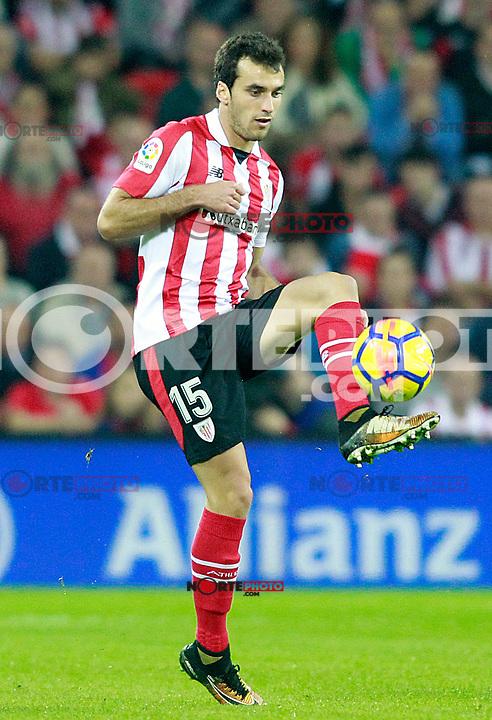 Athletic de Bilbao's Inigo Lekue during La Liga match. October 28,2017. (ALTERPHOTOS/Acero) /NortePhoto.com