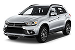 2019 Mitsubishi Outlander-Sport GT 5 Door SUV Angular Front automotive stock photos of front three quarter view