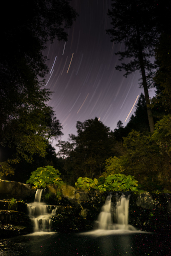 Upper Falls, Clear Creek Ranch, French Gulch, California, US