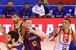 Liga ACB-ENDESA 2020/2021. Game: 26.<br /> FC Barcelona vs Casademont Zaragoza: 107-88.<br /> Rolands Smits vs Jacob Wiley.
