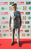 19/05/2015 <br /> Darren Kennedy <br /> during the Irish mirror pride of Ireland awards at the mansion house, Dublin.<br /> Photo: gareth chaney Collins