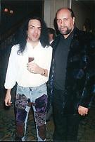 Paul Stanley & Mick Fleetwood 1994<br /> Photo By John Barrett-PHOTOlink.net / MediaPunch