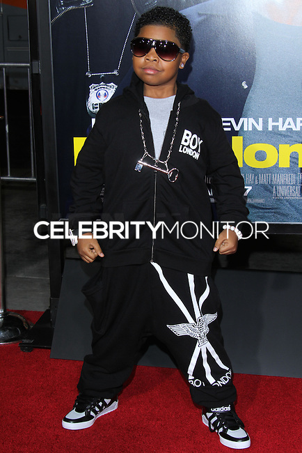 """HOLLYWOOD, CA - JANUARY 13: Lil P-Nut at the Los Angeles Premiere Of Universal Pictures' """"Ride Along"""" held at the TCL Chinese Theatre on January 13, 2014 in Hollywood, California. (Photo by David Acosta/Celebrity Monitor)"""