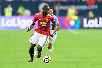 Houston, TX - Thursday July 20, 2017: Eric Bailly during a match between Manchester United and Manchester City in the 2017 International Champions Cup at NRG Stadium.