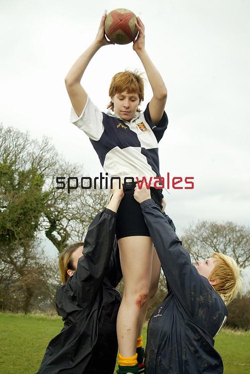 Women's Rugby<br /> ©Steve Pope <br /> Sportingwales
