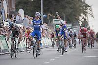 Fernando Gaviria (COL/Etixx-QuickStep) wins the bunch sprint<br /> <br /> 2016 Primus Classic Impanis - Van Petegem (1.HC)<br /> Belgium: Brakel › Boortmeerbeek (200.4km)