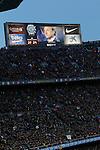 Tributte to Johan Cruyff during FC Barcelona v Real Madrid La Liga match. April 2,2016. (ALTERPHOTOS/Acero)