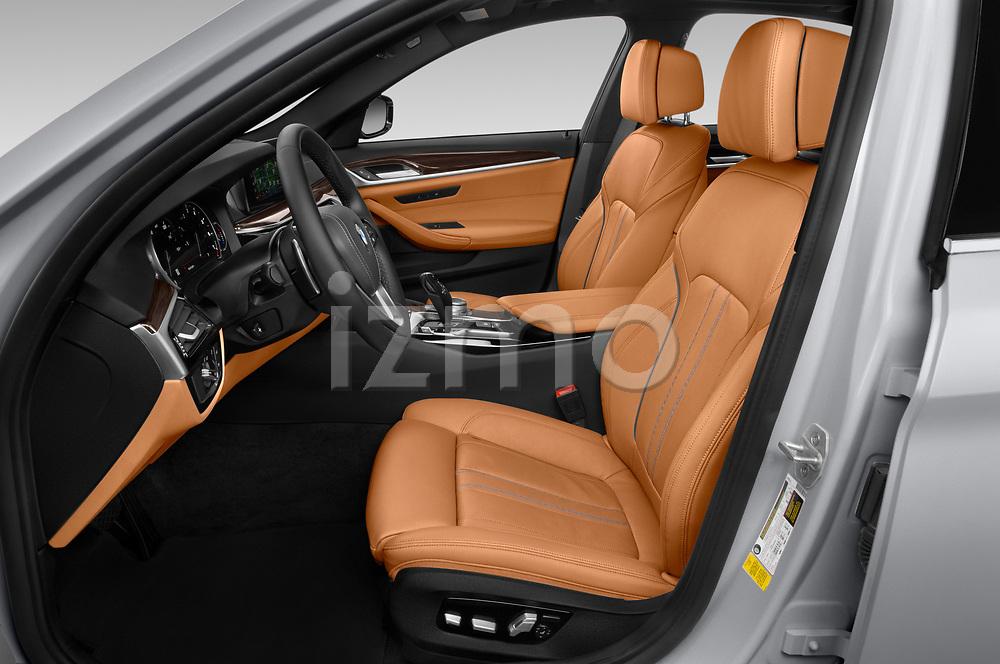 Front seat view of 2019 BMW 5-Series 530I-Sport-Line 4 Door Sedan Front Seat  car photos