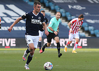 Jed Wallace of Millwall in action during Millwall vs Stoke City, Sky Bet EFL Championship Football at The Den on 12th September 2020