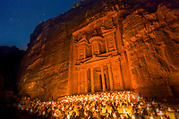 Petra by night is a romantic affair, walking through the lantern lit gorge (siq) with no other lighting makes you feel like a true explorer.<br />