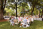 May 8, 2015. Chapel Hill, North Carolina.<br />  On Friday nights between April 24th and October 23rd, the historic Carolina Inn hosts Fridays on the Front Porch with local music, food trucks and drinks on the large front lawn.<br />  Outsiders tend to lump Chapel Hill with nearby Durham, but the more sensible pairing is with Carrboro, the adjacent town that was once a mere offshoot known as West End. Even today the transition from Chapel Hill, anchored by North Carolina''s flagship public university, into downtown Carrboro is virtually seamless.