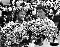 1990, Hilversum, Dutch Open, Melkhuisje, Historic final : Lucky looser Claver wins from qualifier Masso