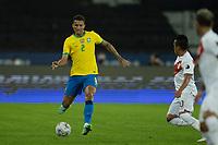 5th July 2021; Nilton Santos Stadium, Rio de Janeiro, Brazil; Copa America, Brazil versus Peru; Danilo of Brazil