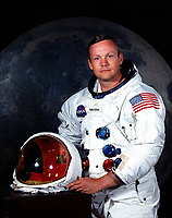 (JULY 1969) --- NEIL A. ARMSTRONG astronaut. Armstrong was Commander of Apollo 11 Lunar Landing Mission.