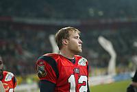 Jared Allen (Quarterback AMsterdam Admirals) entt‰uscht