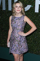 BEVERLY HILLS, CA, USA - OCTOBER 02: Kiernan Shipka arrives at Michael Kors Launch Of Claiborne Swanson Franks's 'Young Hollywood' Book held at a Private Residence on October 2, 2014 in Beverly Hills, California, United States. (Photo by Xavier Collin/Celebrity Monitor)