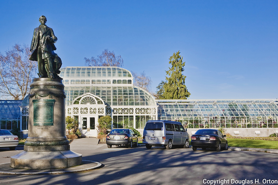 The Volunteer Park Conservatory in Seattle, WA is one of only three conservatories on the U.S. West Coast.