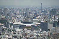 210721 -- TOKYO, July 21, 2021 -- Photo taken on July 21, 2021 shows a view of Tokyo Stadium in Tokyo, Japan.  TOKYO2020JAPAN-TOKYO-OLY-TOKYO STADIUM DuxXiaoyi PUBLICATIONxNOTxINxCHN <br /> Photo Imago / Insidefoto ITALY ONLY