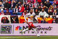 Thierry Henry (14) of the New York Red Bulls. The New York Red Bulls and D. C. United played to a 0-0 tie during a Major League Soccer (MLS) match at Red Bull Arena in Harrison, NJ, on March 16, 2013.