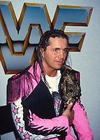 Bret Hart 1985                                                                        Photo By John Barrett/PHOTOlink