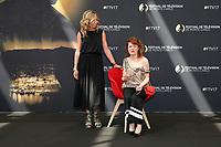 Amélie ETASSE, Anne-Elisabeth BLATEAU - Photocall 'SCENES DE MENAGE' - 57ème Festival de la Television de Monte-Carlo. Monte-Carlo, Monaco, 17/06/2017. # 57EME FESTIVAL DE LA TELEVISION DE MONTE-CARLO - PHOTOCALL 'SCENES DE MENAGE'
