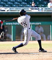 Lorenzo Cain / Peoria Javelinas 2008 Arizona Fall League ..Photo by:  Bill Mitchell/Four Seam Images