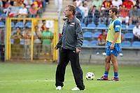 Trainer Ralf Rangnick (Hoffenheim)<br /> TSG 1899 Hoffenheim vs. Galatasaray Istanbul, Carl-Benz Stadion Mannheim<br /> *** Local Caption *** Foto ist honorarpflichtig! zzgl. gesetzl. MwSt. Auf Anfrage in hoeherer Qualitaet/Aufloesung. Belegexemplar an: Marc Schueler, Am Ziegelfalltor 4, 64625 Bensheim, Tel. +49 (0) 6251 86 96 134, www.gameday-mediaservices.de. Email: marc.schueler@gameday-mediaservices.de, Bankverbindung: Volksbank Bergstrasse, Kto.: 151297, BLZ: 50960101