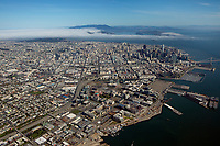 Aerial photograph of Mission Bay, San Francisco, California