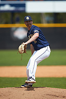 Queens Royals relief pitcher Wes Boling (36) in action against the Catawba Indians during game one of a double-header at Tuckaseegee Dream Fields on March 26, 2021 in Kannapolis, North Carolina. (Brian Westerholt/Four Seam Images)