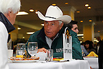 May 17, 2012 D. Wayne Lukas, trainer of Preakness contender Optimizer, at the Alibi Breakfast Thursday morning at Pimlico Race Course in Baltimore, Maryland. photo by Joan Fairman Kanes