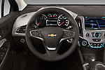 Car pictures of steering wheel view of a 2018 Chevrolet Cruze Premier 4 Door Sedan Steering Wheel