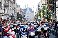 rolling through Leuven<br /> <br /> Women Elite - Road Race (WC)<br /> from Antwerp to Leuven (158km)<br /> <br /> UCI Road World Championships - Flanders Belgium 2021<br /> <br /> ©kramon